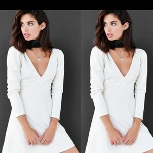 Urban Outfitters Plunge Long Sleve dress